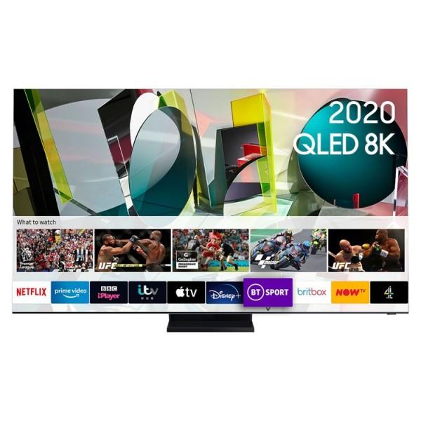 """Samsung QE75Q950TS 75"""" QLED 8K TV - 2020 Model - 6 Year Protection Plan"""