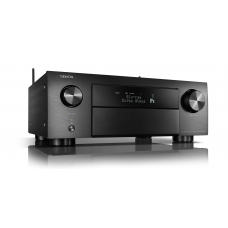 Denon AVC-X4700H 9.2ch 8K AV Amplifier with 3D Audio, HEOS Built-in and Voice Control - Black