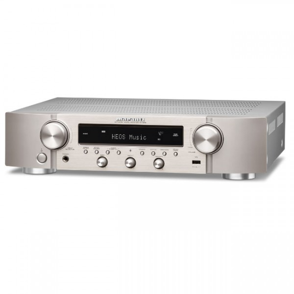 Marantz NR1200 Slim Stereo Network Receiver with HEOS Built-in - Silver Gold