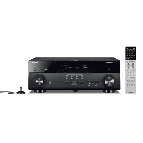 Yamaha RX-A680 Aventage MusicCast AV Receiver-Black