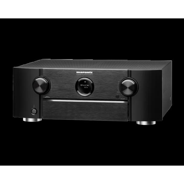 Marantz SR6015 9.2ch. 8K AV Receiver with HEOS® Built-in and Voice Control - Black