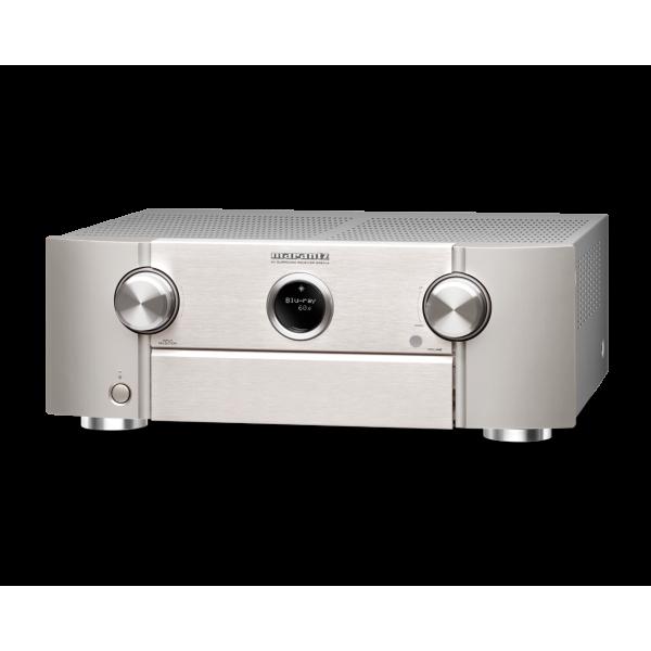 Marantz SR6014 9.2 Ch. 4K Ultra HD AV Receiver - Silver Gold