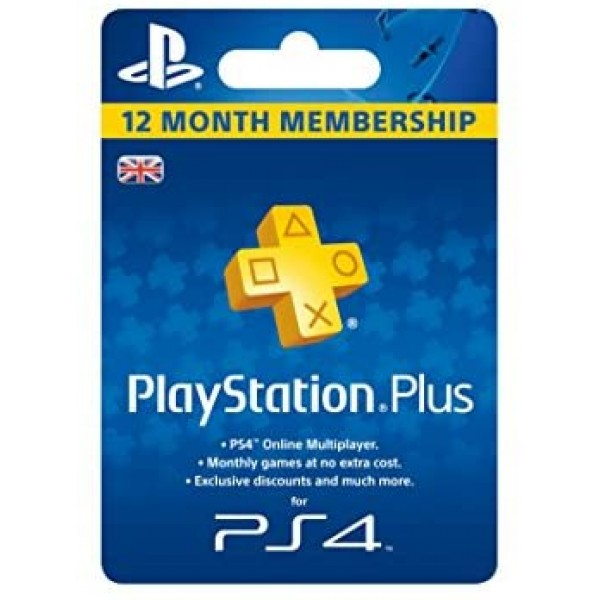 Sony Playstation Plus 12 Month Subscription