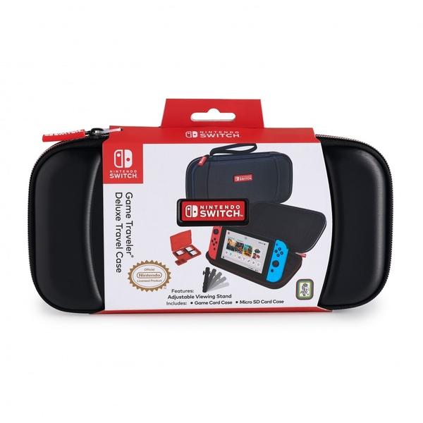 Big Ben Nintendo Switch Official Black Deluxe Travel Case - NNS28B
