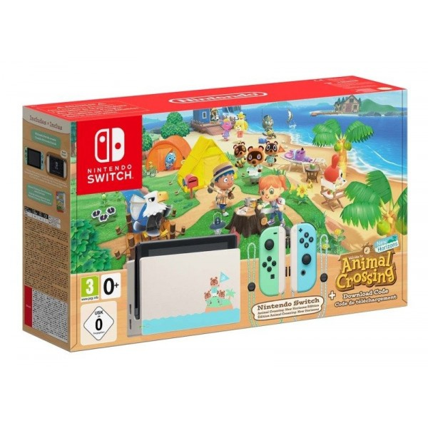 Nintendo Switch Limited Edition - Animal Crossing: New Horizon Edition
