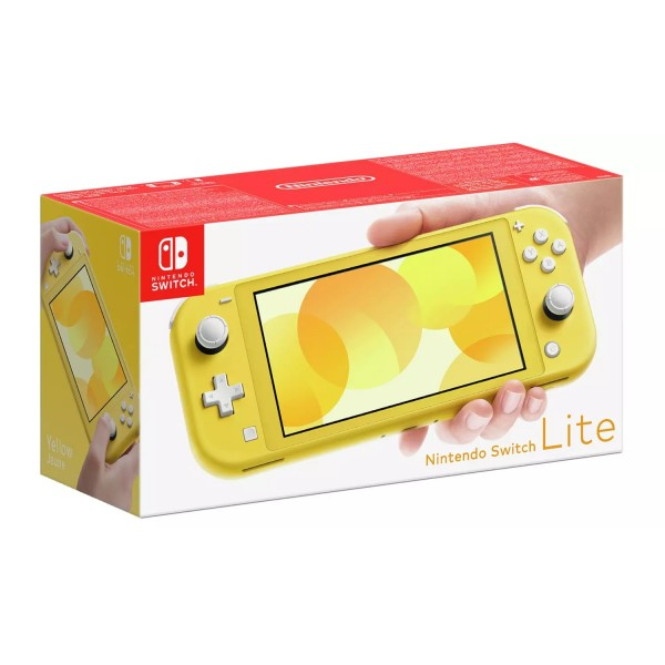 Nintendo Switch Lite Handheld Console - Yellow