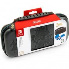 Big Ben Nintendo Switch Deluxe Travel Case - Zelda Link Breath of the Wild - Grey