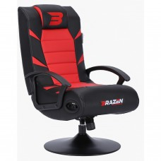 BraZen Pride 2.1 Bluetooth Surround Gaming Chair - Red