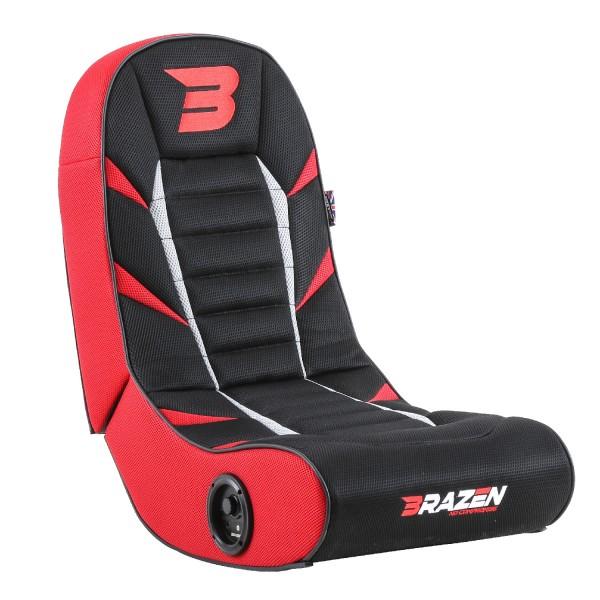 BraZen Python 2.0 Bluetooth Surround Gaming Chair - Red