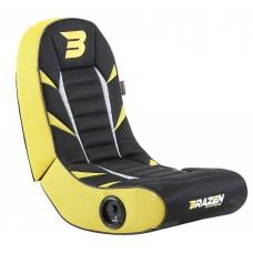 BraZen Python 2.0 Bluetooth Surround Gaming Chair - Yellow