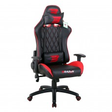 BraZen Phantom Elite Racing PC Gaming Chair - Red