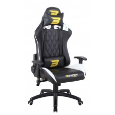 BraZen Phantom Elite Racing PC Gaming Chair - White