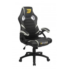 BraZen Puma PC Gaming Chair - White