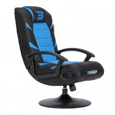 BraZen Pride 2.1 Bluetooth Surround Gaming Chair - Blue
