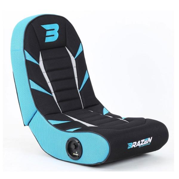 BraZen Python 2.0 Bluetooth Surround Gaming Chair - Blue