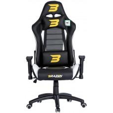 BraZen Sentinel Elite Racing PC Gaming Chair - White