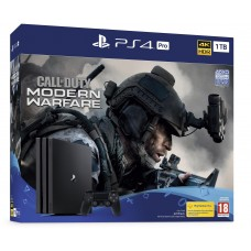 Sony PlayStation 4 Pro with Call of Duty: Modern Warfare Bundle - 1 TB