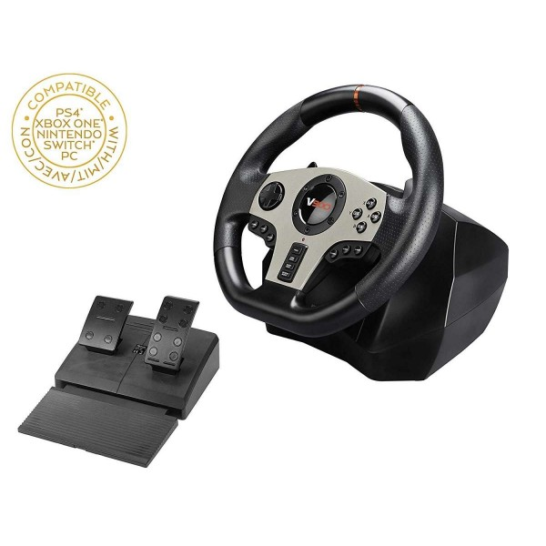 Subsonic Universal Elite Racing Wheel  V900 - PS4, PS3, Xbox One, PC & Nintendo Switch