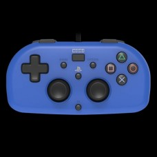 Hori Wired Mini Gamepad Controller for PS4 - Blue