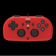Hori Wired Mini Gamepad Controller for PS4 - Red