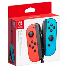 Nintendo Switch Neon Red Joy-Con (L) and Neon Blue Joy-Con (R) Controller Set