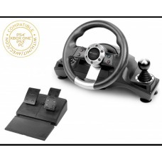 Subsonic Universal Pro Driving Wheel - PS4, PS3, Xbox One & PC