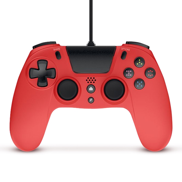 Gioteck VX-4 Premium Wired Controller PS4 - Red