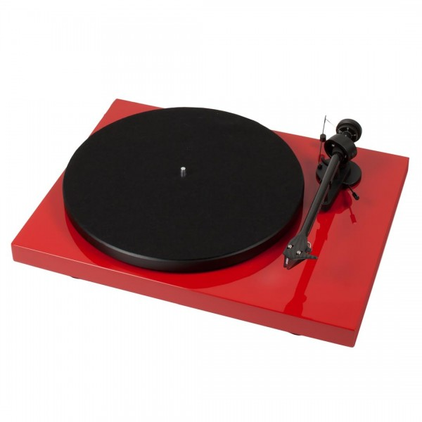 Pro-ject Debut Carbon DC Turntable - Red
