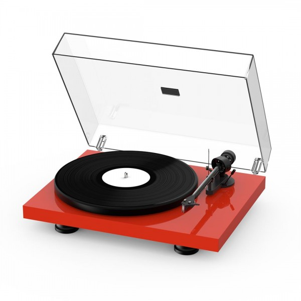Pro-ject Debut Carbon EVO Turntable - Gloss Red
