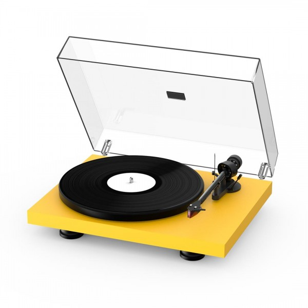 Pro-ject Debut Carbon EVO Turntable - Satin Yellow