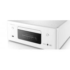 Denon CEOL RCDN11DAB Hi-Fi-Network CD Receiver with HEOS and BT - White