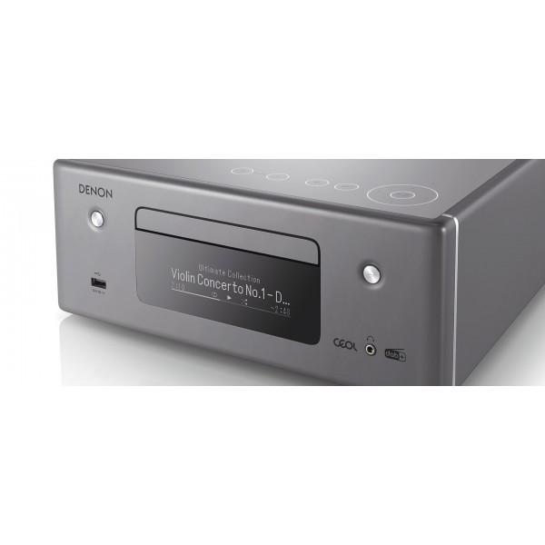 Denon CEOL RCDN11DAB Hi-Fi-Network CD Receiver with HEOS and BT - Grey