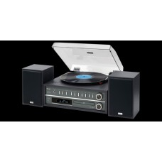 Teac MC-D800 Turntable CD System - Black