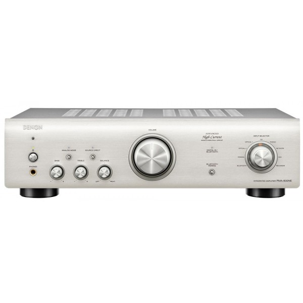 Denon PMA600NE Integrated Amplifier 70W per Channel and BT - Silver