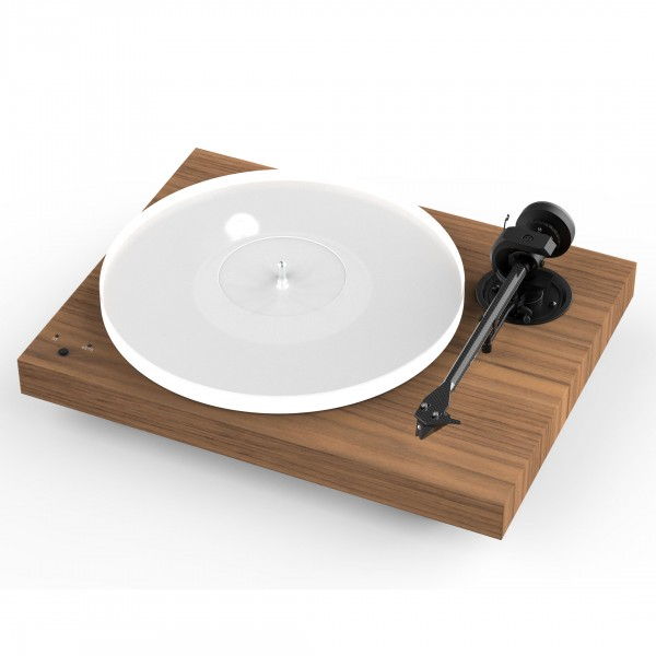Pro-Ject X1 High End Audiophile Affordable Turntable - Walnut