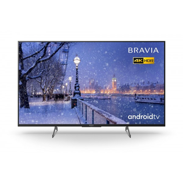 "Sony KD49XH8505 Ultra HD 49"" LED HDR Smart TV-Free 5YG"