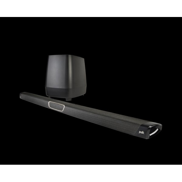 Polk MagniFi MAX Home Theatre Soundbar works with Google Assistant