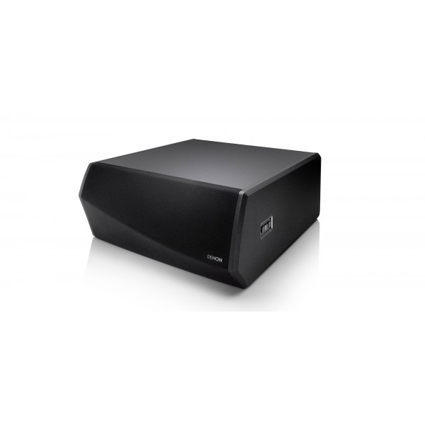 Denon DSW1H Wireless Subwoofer with HEOS built in - Black