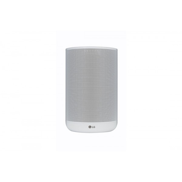 LG WK7W ThinQ Wireless Speaker with Built-in Google Assistant - White