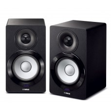 Yamaha MusicCast NX-N500 Bookshelf Monitor Speakers - Black