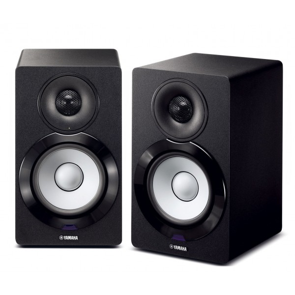Yamaha MusicCast NX-N500 Bookshelf Monitor Speakers - Black