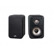 Polk Signature S10e Compact Book Shelf Speakers (Pair) - Black