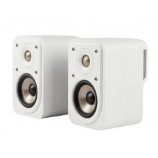 Polk Signature S10e Compact Book Shelf Speakers (Pair) - White