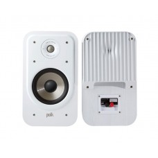 Polk Signature S20e Book Shelf Speakers (Pair) - White