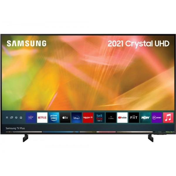 "Samsung UE65AU8000 65"" Smart Ultra HD HDR  4K TV - 2021 Range"
