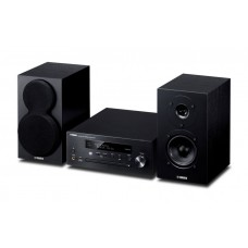 Yamaha MCR-N470D MusicCast Pianocraft HiFi System with Speakers - Black