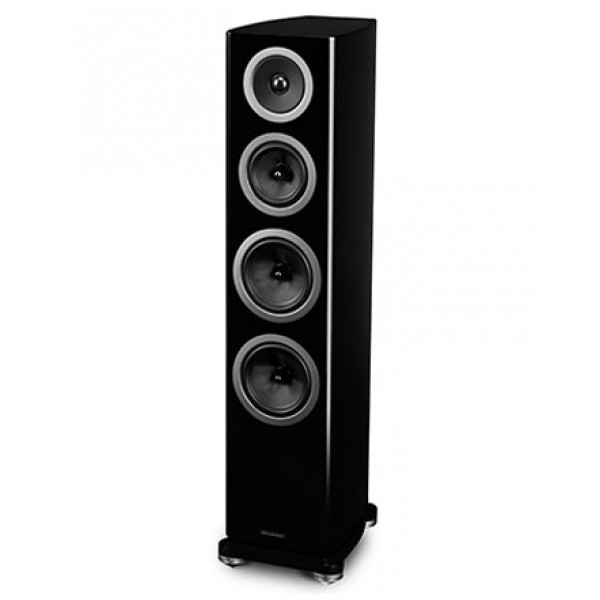 Wharfedale Reva 4 Floorstanding speakers-Black Pair