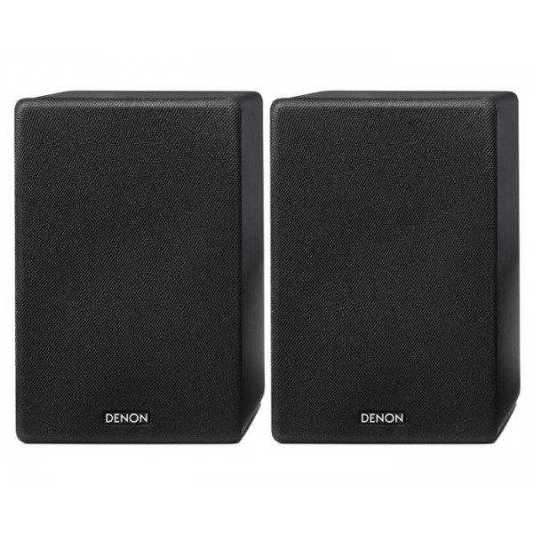Denon SC-N10 Compact Bookshelf Speakers - Black