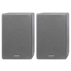 Denon SC-N10 Compact Bookshelf Speakers - Grey