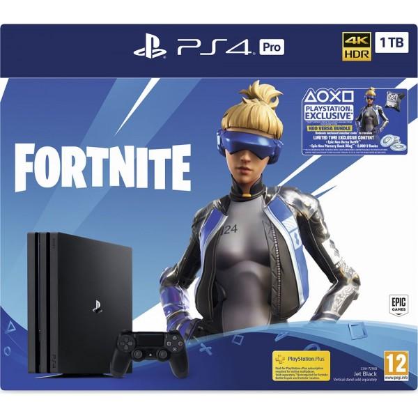 Sony PlayStation 4 Pro with Fortnite Neo Versa Bundle - 1 TB